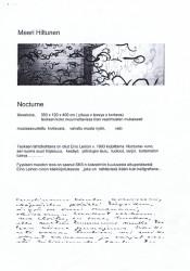 Meeri Hiltunen - Eino-Leino - Nocturne