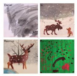 Lapset: Lumi, Ia, Rasmus ja Daniel