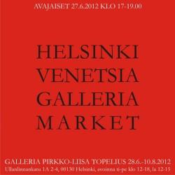 Helsinki Venetsia Galleriamarket kutsu