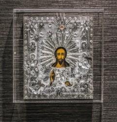 Kipeän naisen Kristus -ikoni malli: Evakko-Kristus